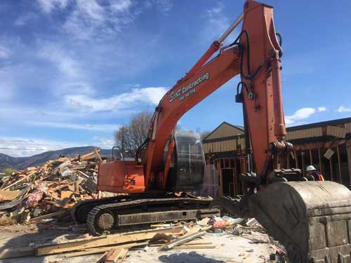 okanagan demolition contractor