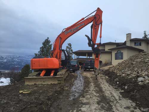 road building contractor okanagan